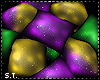 ST: Mardi Gras Pillows