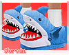 Shark Slippers - B