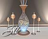 Prestige Vase/Candles