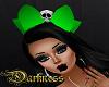 Skull Bow Green