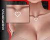 Chest Tattoo Heart White