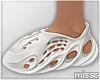 $ Foam Runner WHITE