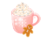 hot chocolate sticker
