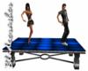 [BW]Blue Dance Table
