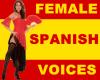 Spanish Female Voices