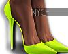 NYCF| Boujie Pumps Lime