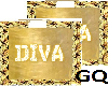 Plated Gold Name DIVA