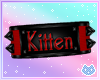 Red Kitten Armband R/F