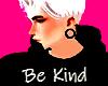 Be Kind Black Jumper