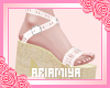 ❀ Lace Heels