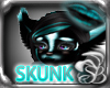 SKUNK Cyan EARS ~V1