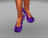 sexy purple shoes