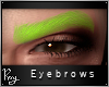 Sultry Brows-Lime Green