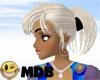 ~MDB~ IVORY MINDY CLIP