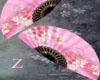 Pink n Blue Fan