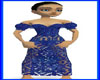 !B! Blue Top Lace Skirt