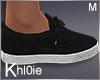 K black n white kicks
