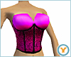 Bright Pink Corset