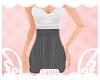 |S| High Waisted Dress