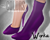 W° Purple .Boot/Pump