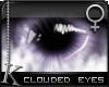 K| Clouded Eyes: Purple