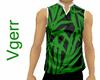 Green Leaf Sleeveless