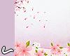 Backgrd flowers pk/ppl
