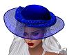 NavyBlue Elegant Hat