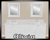 *O* Double Vanity Sink