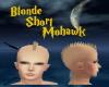 Blonde Short Mohawk