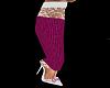 *AL* Pink Lace Heel