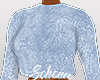ṩFuzzy Sweater Blue