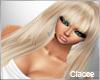 blonde hair long  C