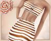'♥P: Mocha Striped