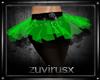 tutu green-black