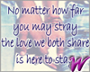 Here to stay -stkr