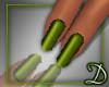 [D] Basic Green Nails