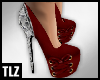 [TLZ]Red Snake Bow Heels