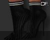 Df. Booties Sock  Black