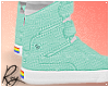 Mint Gay Hightops by Roy