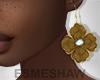 É. Flower Earrings