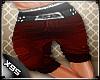 x9..CL*Red Short pants
