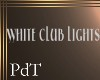 PdT White Club Lights