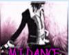 MJ DANCE POSE