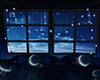 Blue Fairy Lights