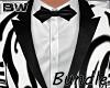 Black White Art Suit BD