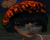 Orng&Blk Cap/Hair