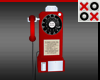 50s Pay Phone Wall Mount