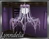 ~L~ Purple Chandelier