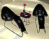 Animated Black Chairs